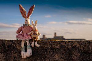 親子の人形