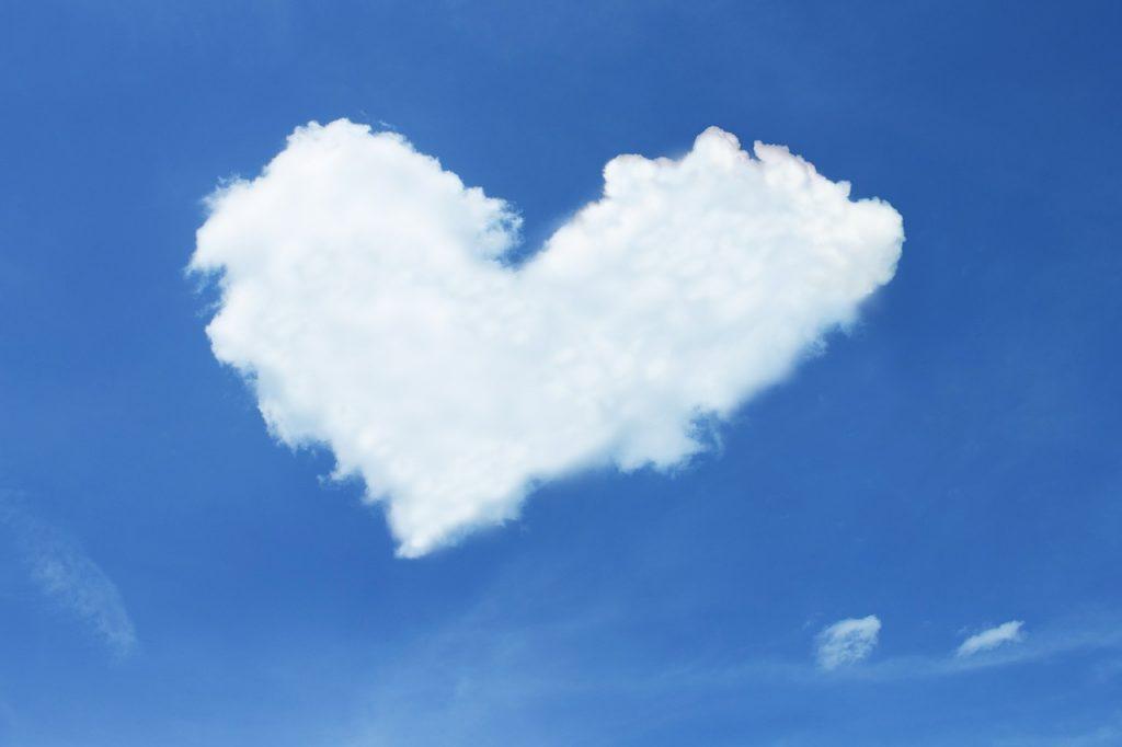 ハート型の雲,レイキサロン&スクールSono-mama