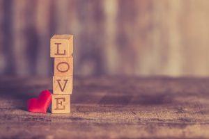 LOVEの積み木
